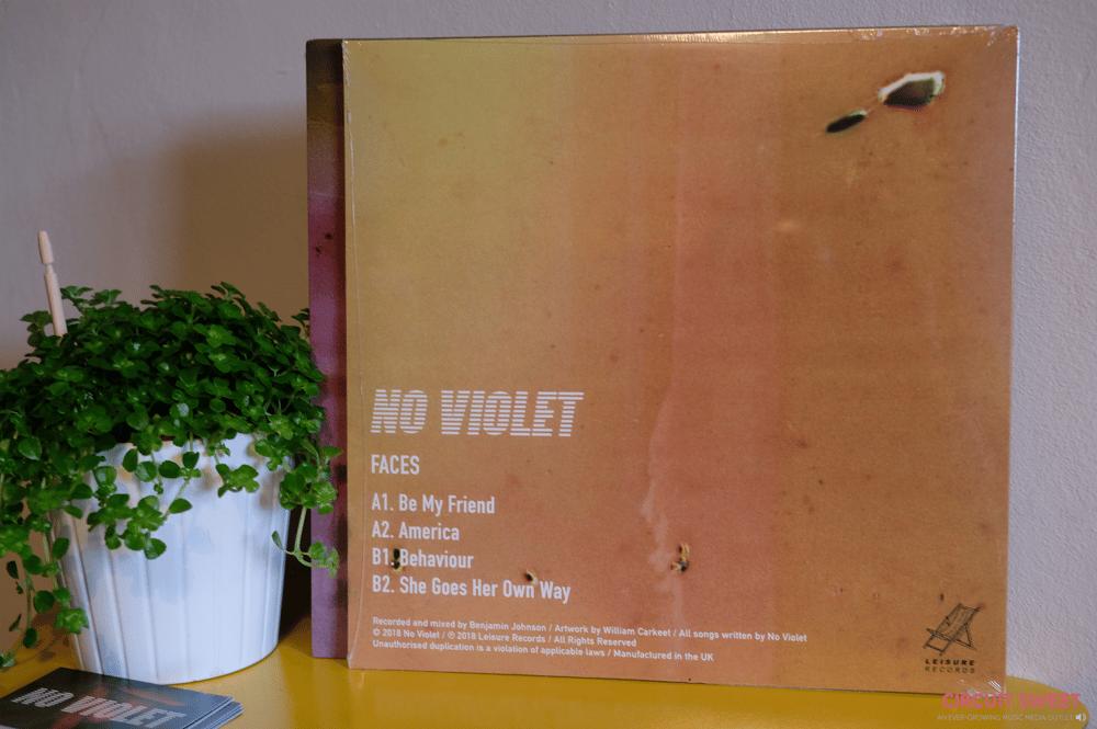 """Image of No Violet - Faces 10"""" Vinyl"""
