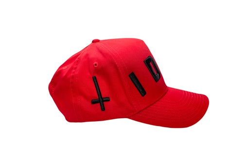 Image of Red TFG Idol Trucker Hat
