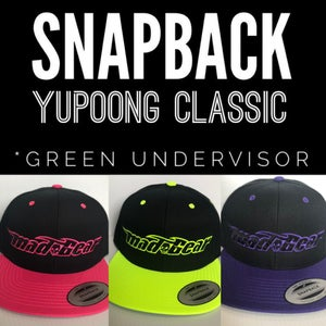 Image of Mad Gear SnapBacks-Pink, Neon Yellow & Purple