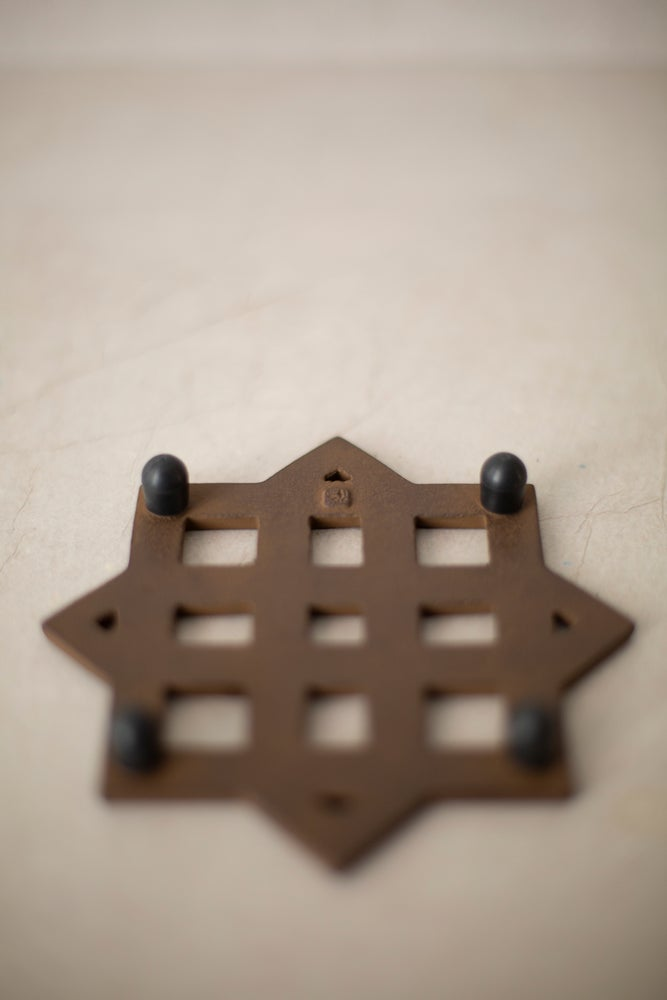 Image of Trivet#2 in sand casted iron by Suzuki Morihisa Studio