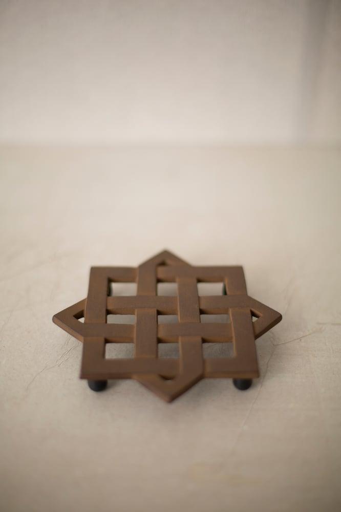 Image of Trivet#2 in sand casted iron by Suzuki Morihisa Studio