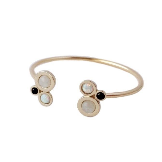 Image of Nebula Open Cuff Bracelet