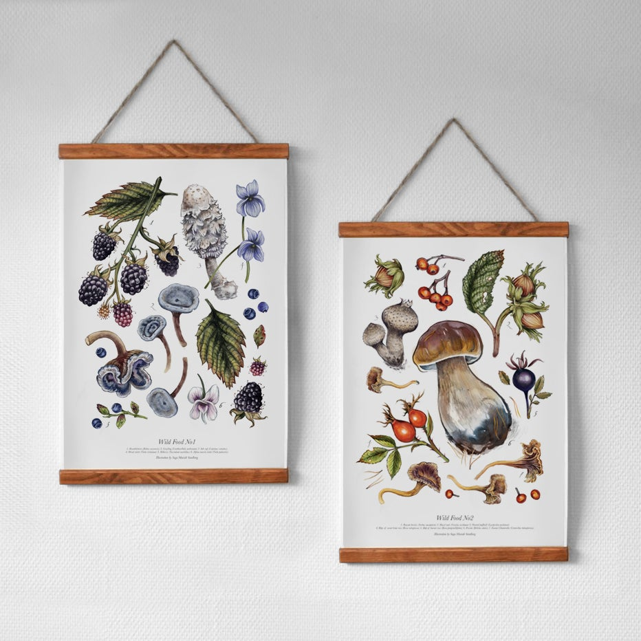 Image of WILD FOOD 1 & 2 PRINTS