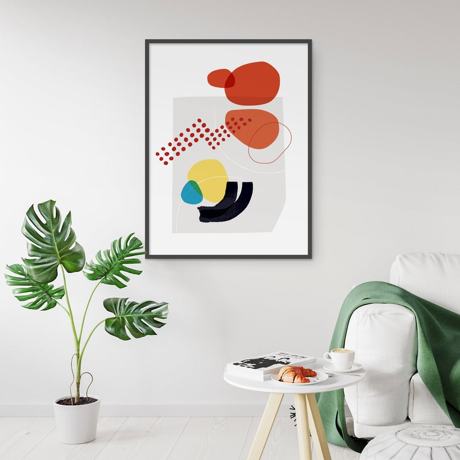 Image of Shape & Hue Series No. 3 Art Print