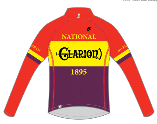 Image of Long Sleeve Jersey Tech Pro 1895