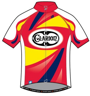 Short Sleeve Jersey Tech+ Clarion CC Design