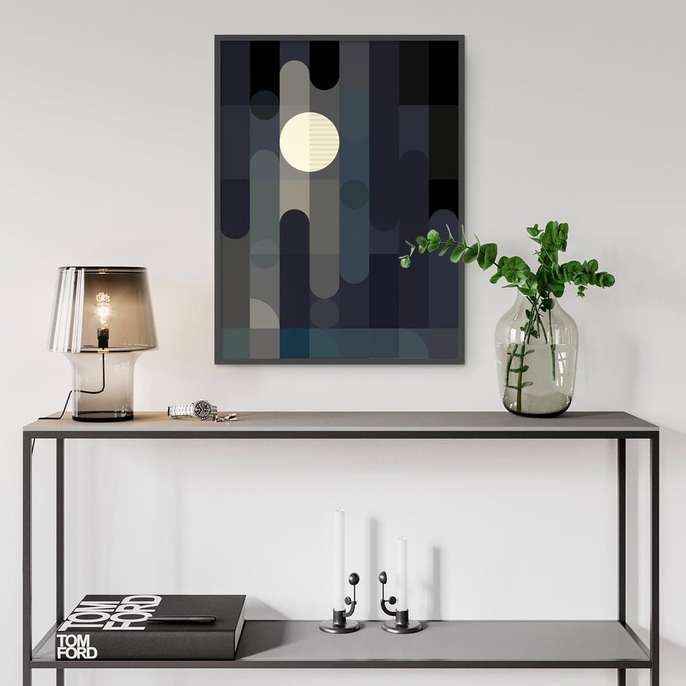 Image of Lunar Elements Art Print