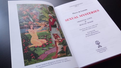 Image of Sexual Mysteries by Piere de Lasenic hardcover book