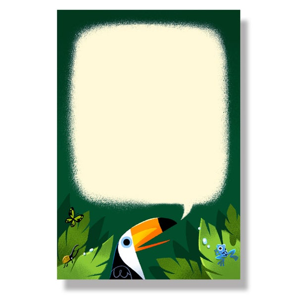 Image of Toucan Notepad