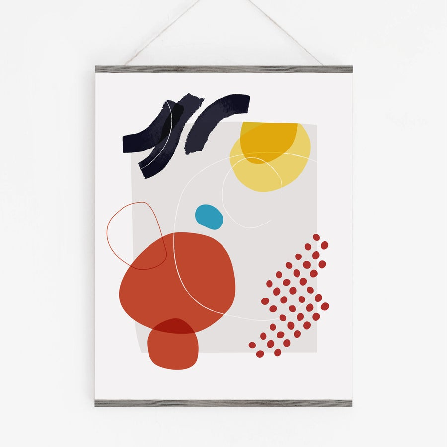 Image of Shape & Hue Series No. 2 Art Print