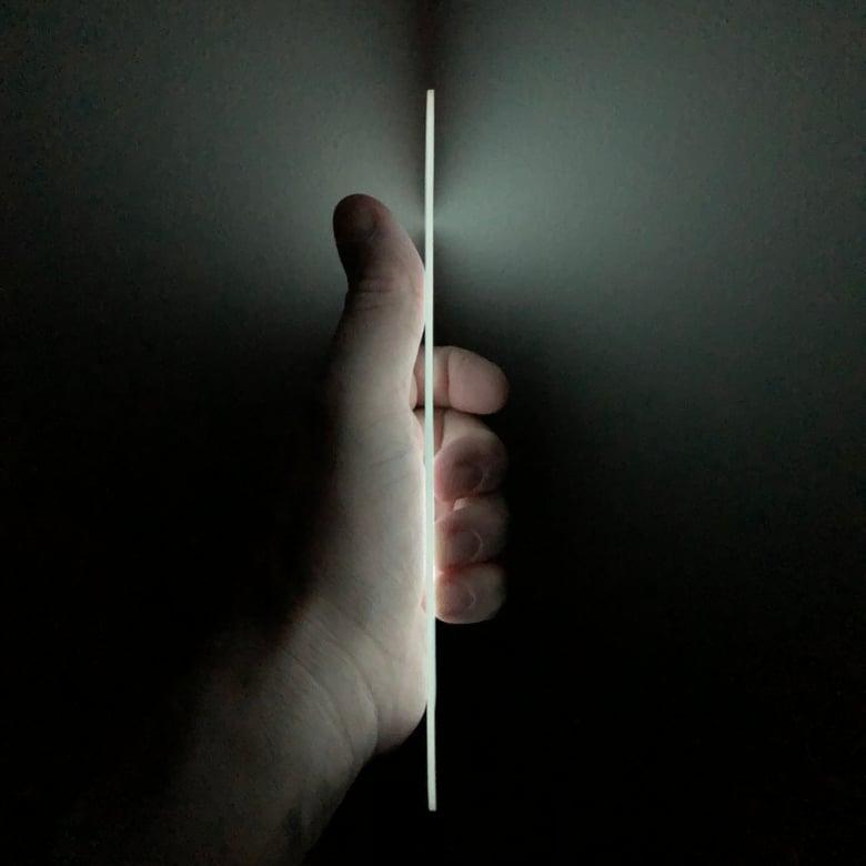 "Image of White Day/White Glow ShokRes Liner Sheet .062"" x 4"" x 6"""