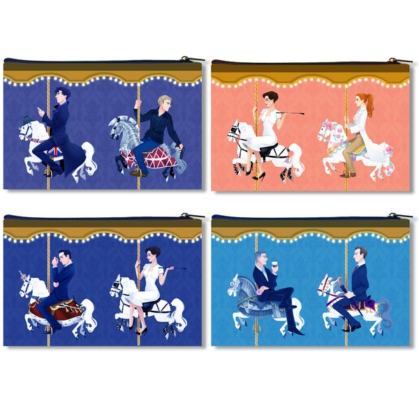 Image of Sherlock Carousel Zipper Bag