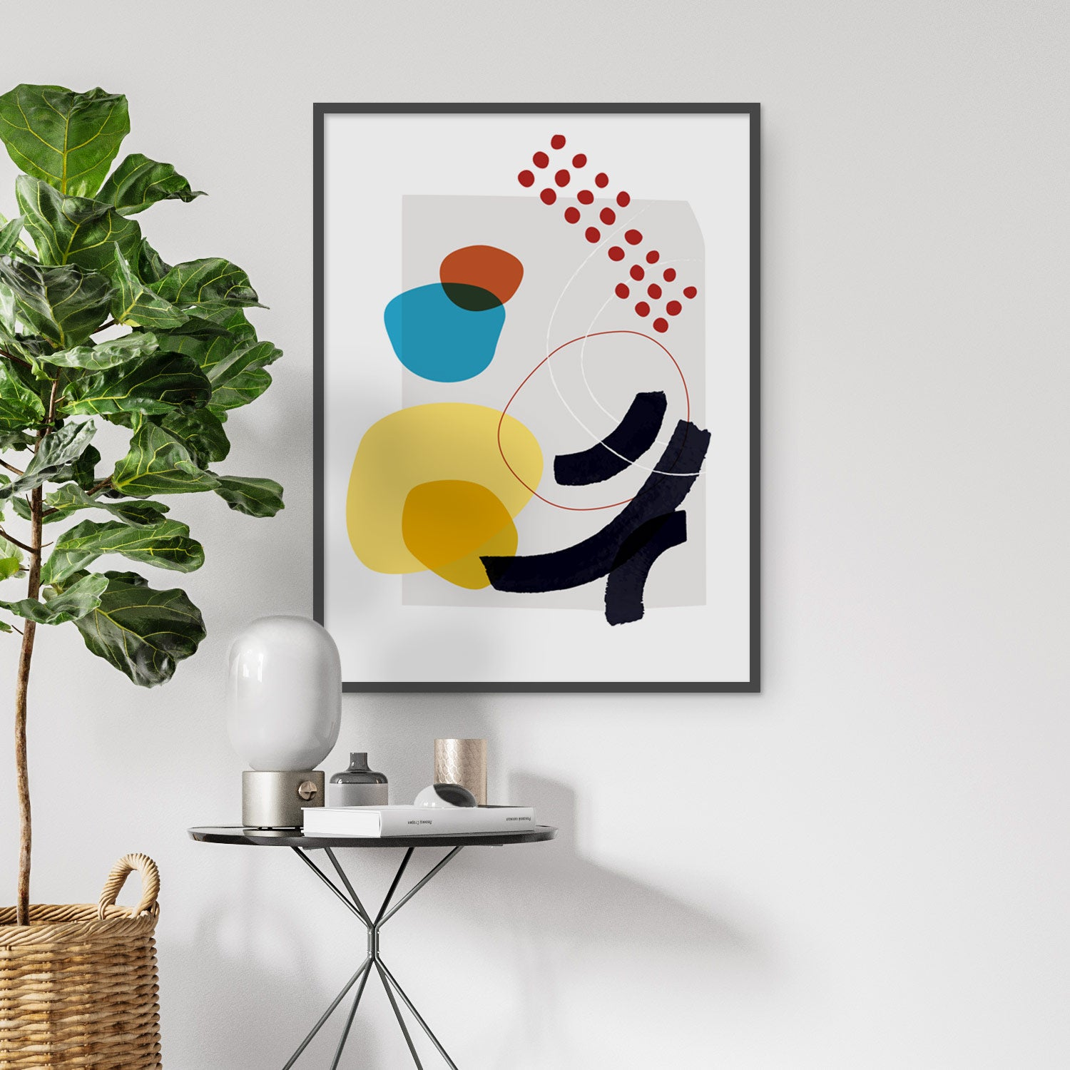 Image of Shape and Hue Series No. 1 Art Print