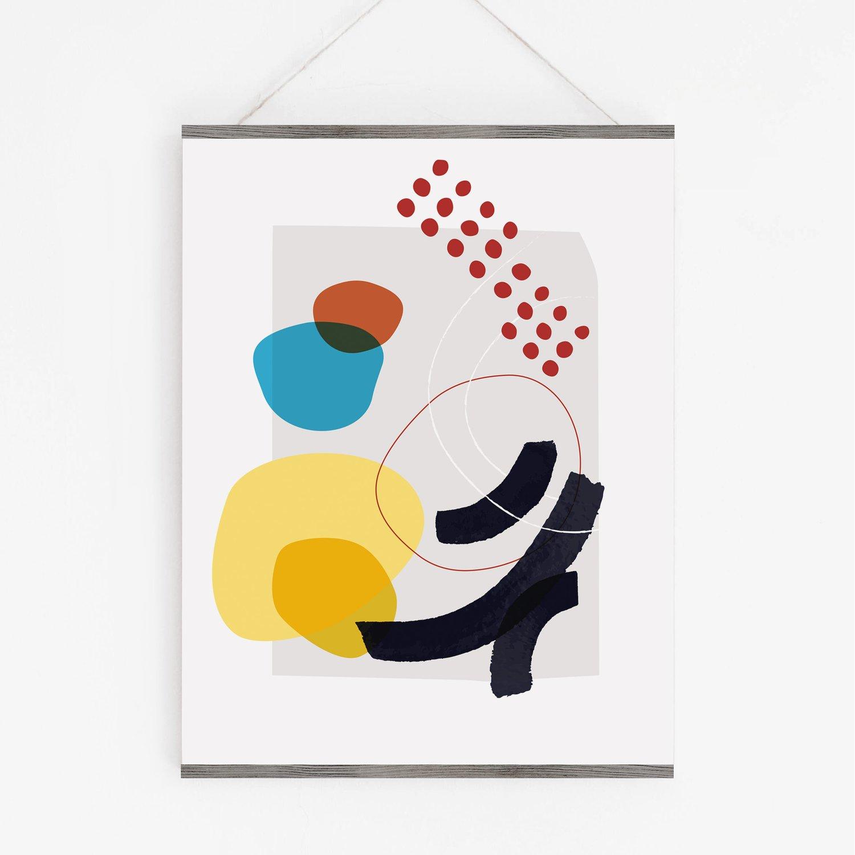 Image of Shape and Hue Series No. 1 Art Print