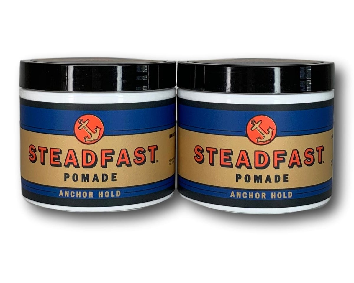 Image of 4 oz Anchor Hold Steadfast Pomade 2PK