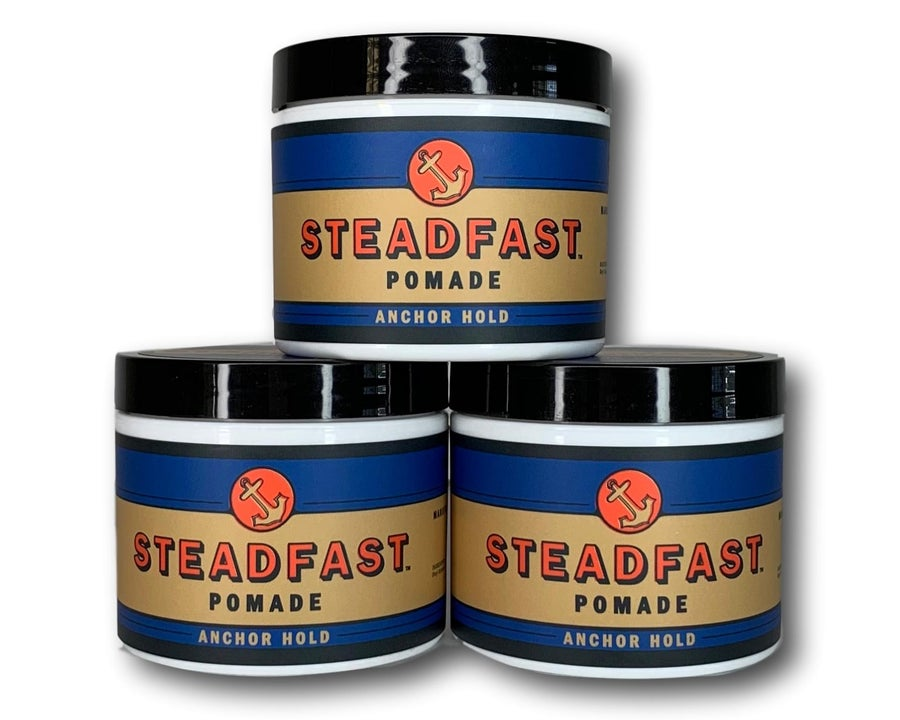 Image of 4 oz Anchor Hold Steadfast Pomade 3PK