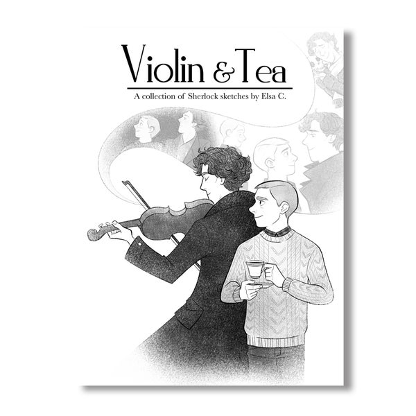 Image of Violin & Tea Sherlock Sketchbook