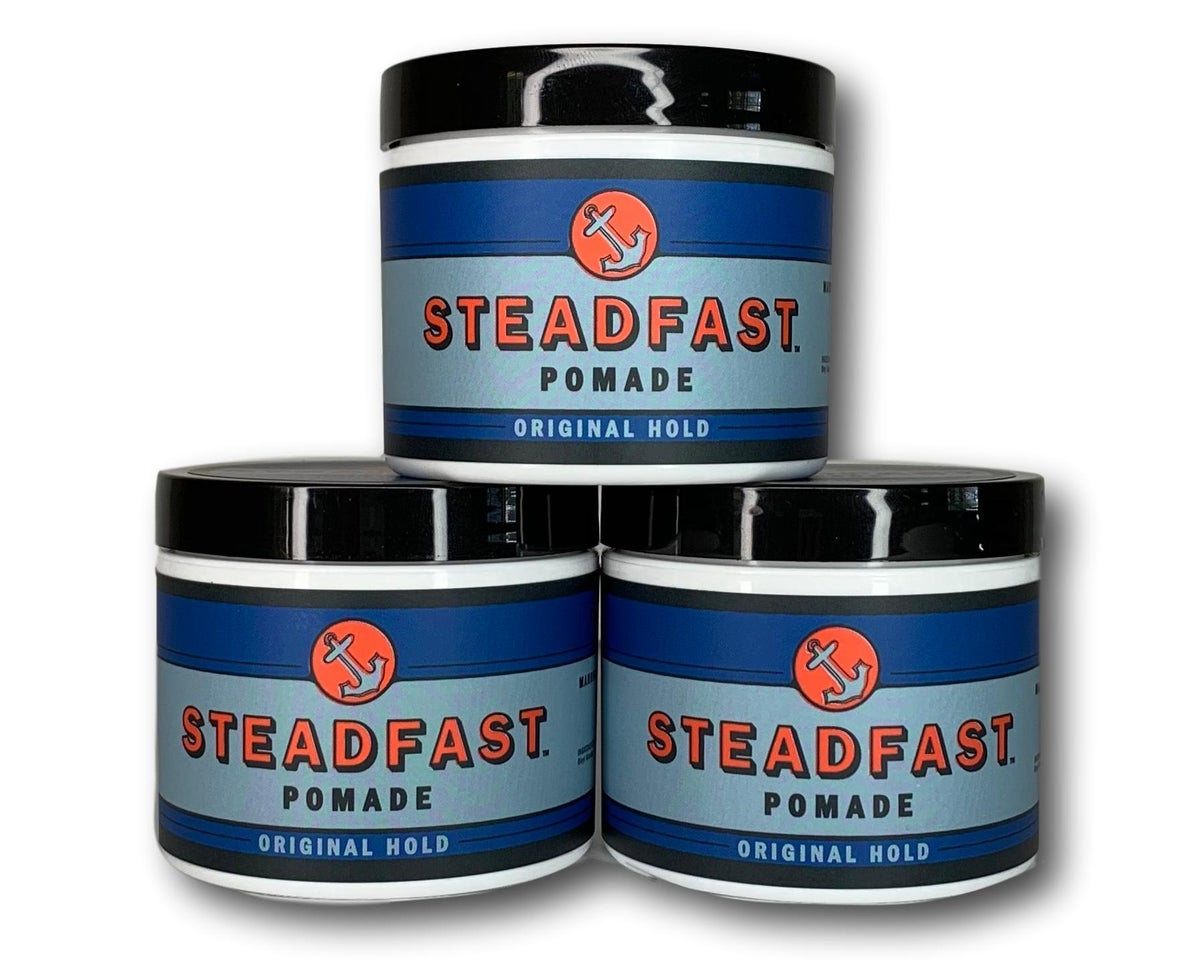 Image of 4 oz Original Hold Steadfast Pomade 3PK