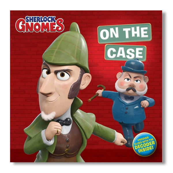 Image of Sherlock Gnome: On the Case [signed]