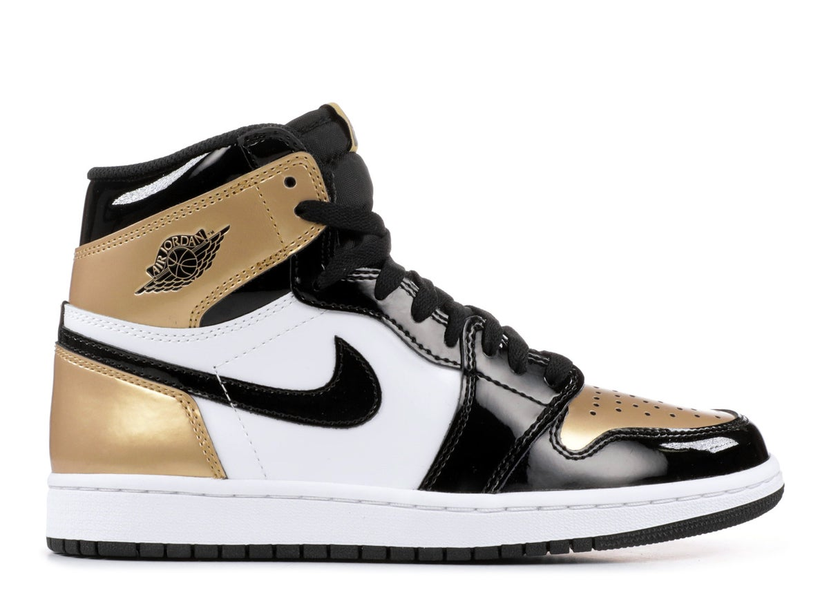 "Image of AIR JORDAN 1 RETRO HIGH OG NRG ""GOLD TOE"""