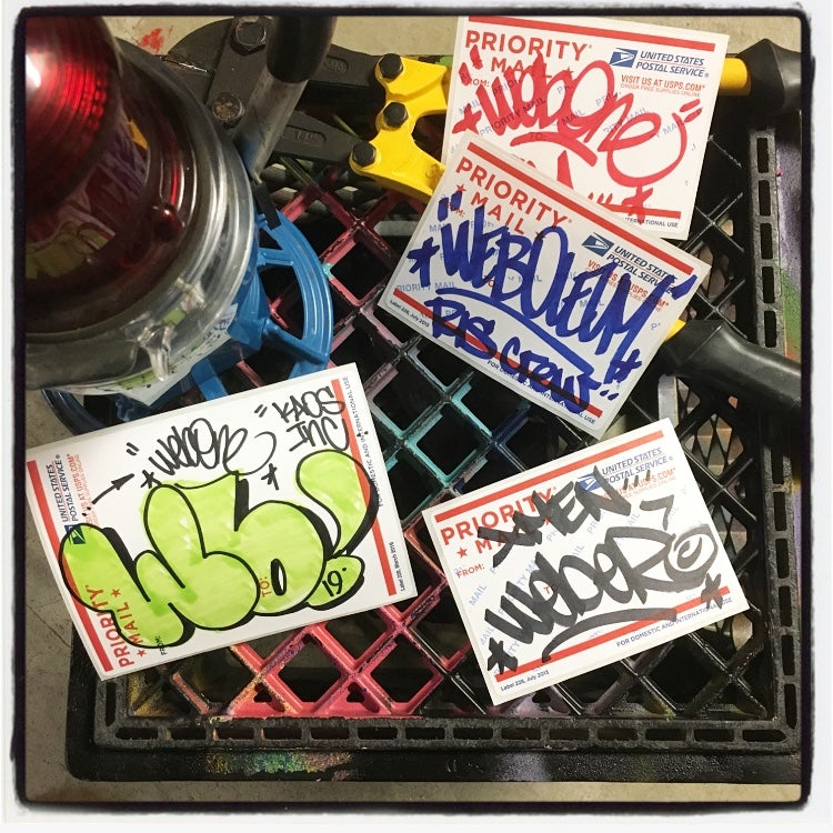 Image of WEB TC5 STICKER PACK