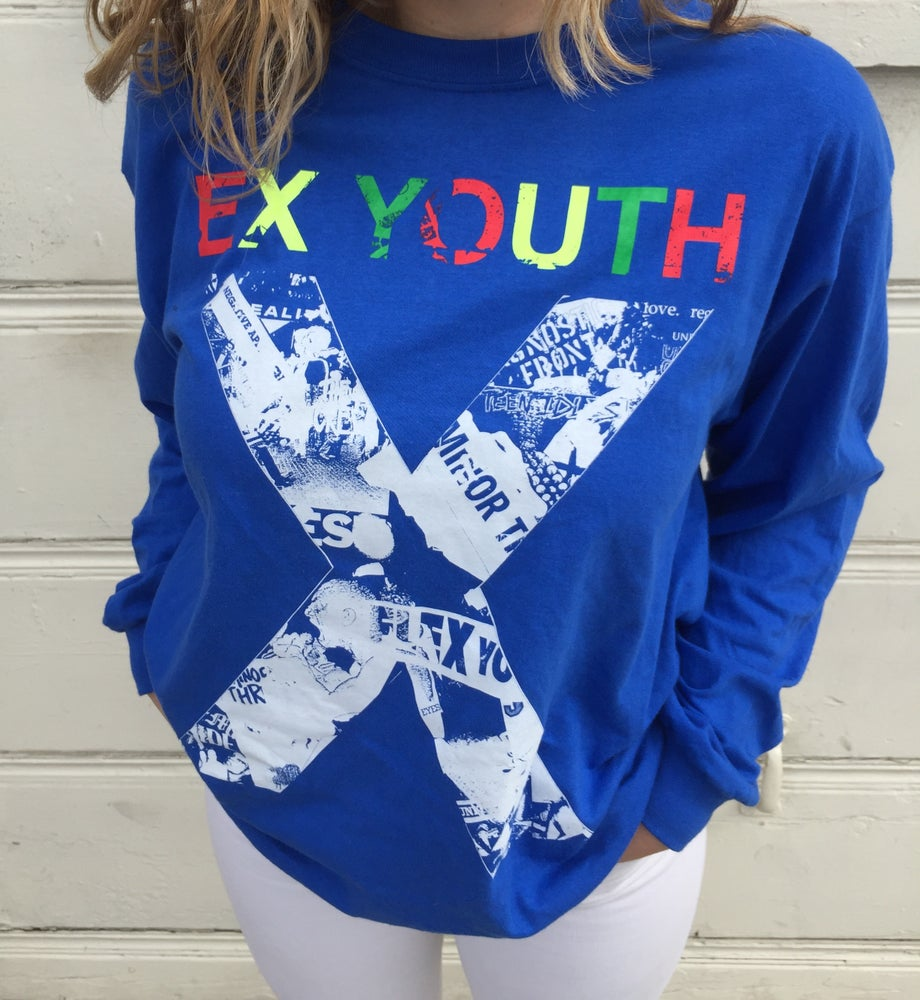 Image of EX YOUTH Long Sleeve T-Shirt (Gorilla Biscuits Exclusive)