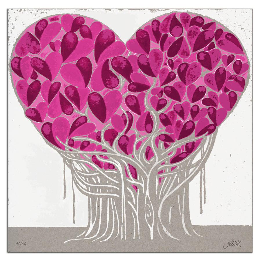 """Image of """"Ficus"""" 50x50 cm."""