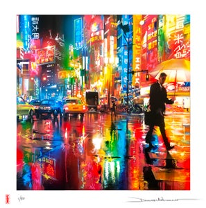 Image of 'Neon Streets' - Limited hand finished print