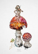 Image of [ THE FAERY FOLK ] - Fly Agaric fae