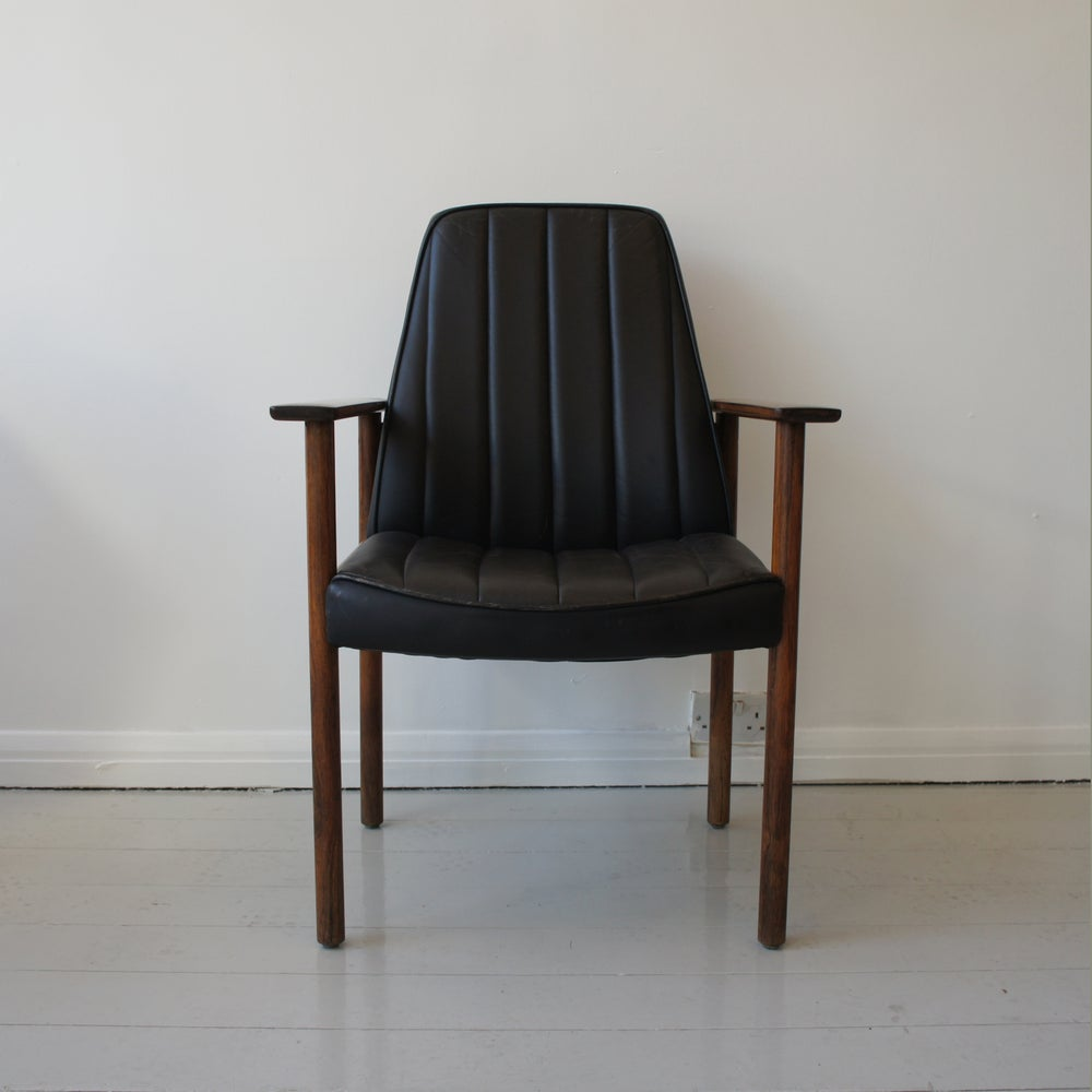 Image of Solid Rosewood Chair by Sven Ivar Dysthe