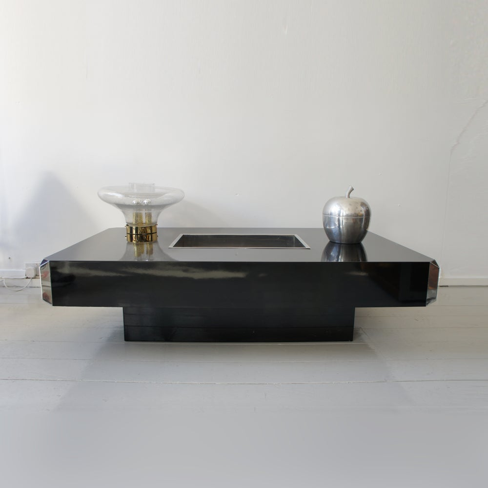 Image of Alveo Coffee Table By Willy Rizzo For Mario Sabot