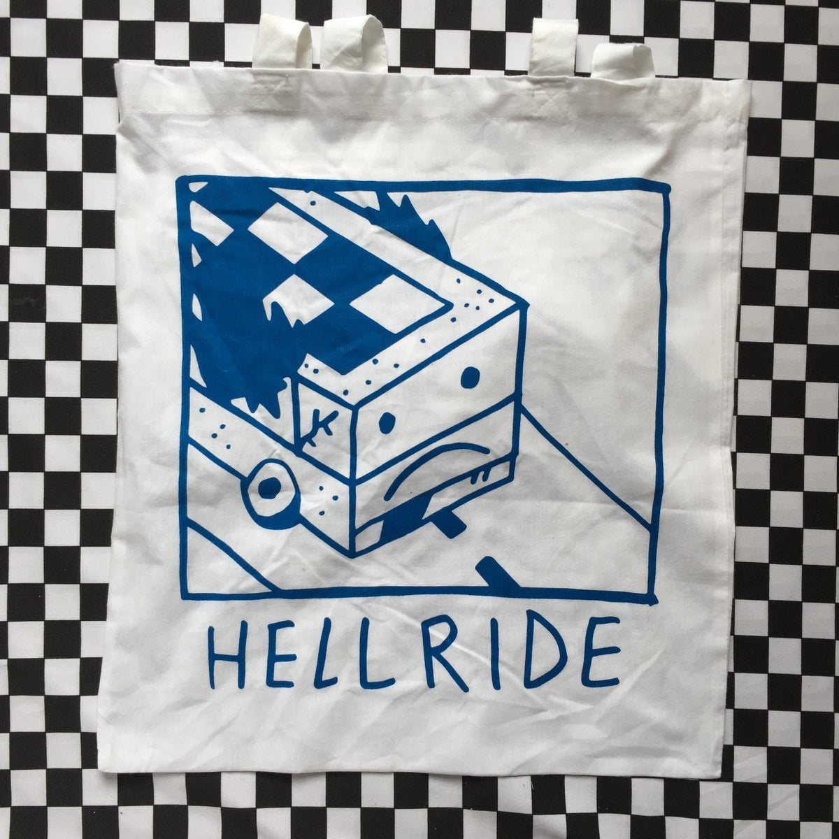 Image of Joyride/Hellride tote bag