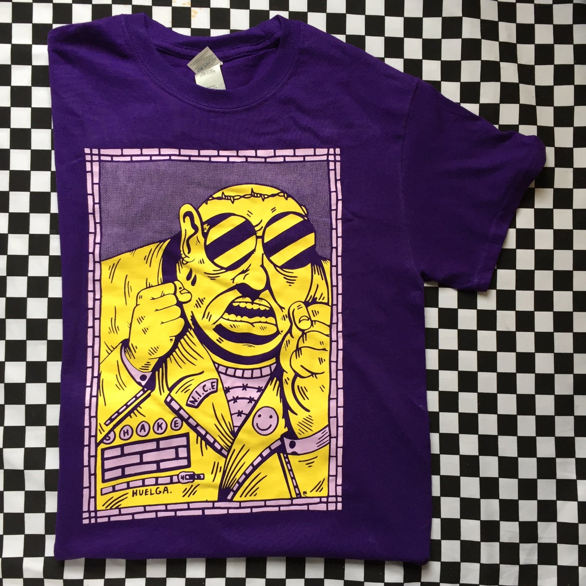 Image of Heulga Tee: Purple