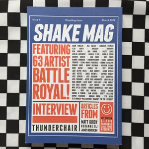 Image of The Wrestling Issue - Shake Mag 5