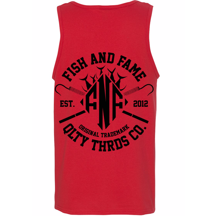 Image of DMND Edge Tank Top (red)