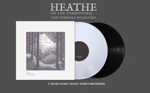 Image of Heathe 'On The Tombstones; The Symbols Engraved' 12""