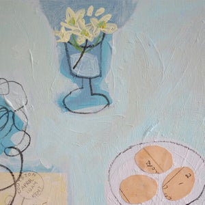 Image of Contemporary Painting, 'April Post,' Poppy Ellis