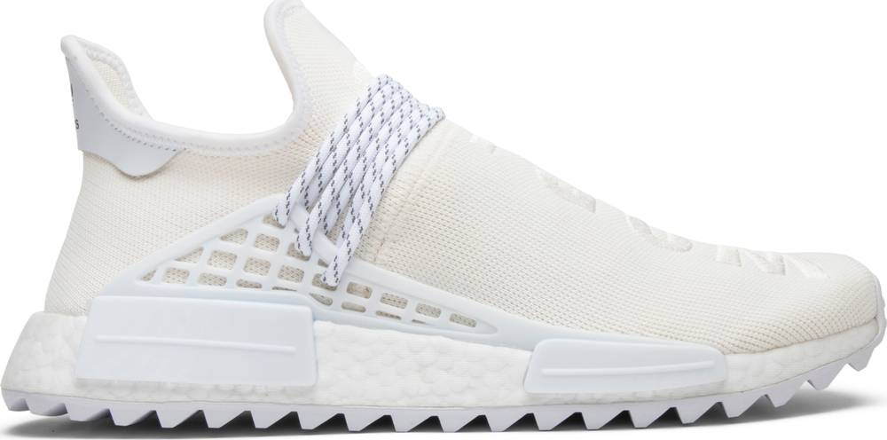 check out bd740 1883e Pharrell x NMD Human Race Trail 'Blank Canvas'