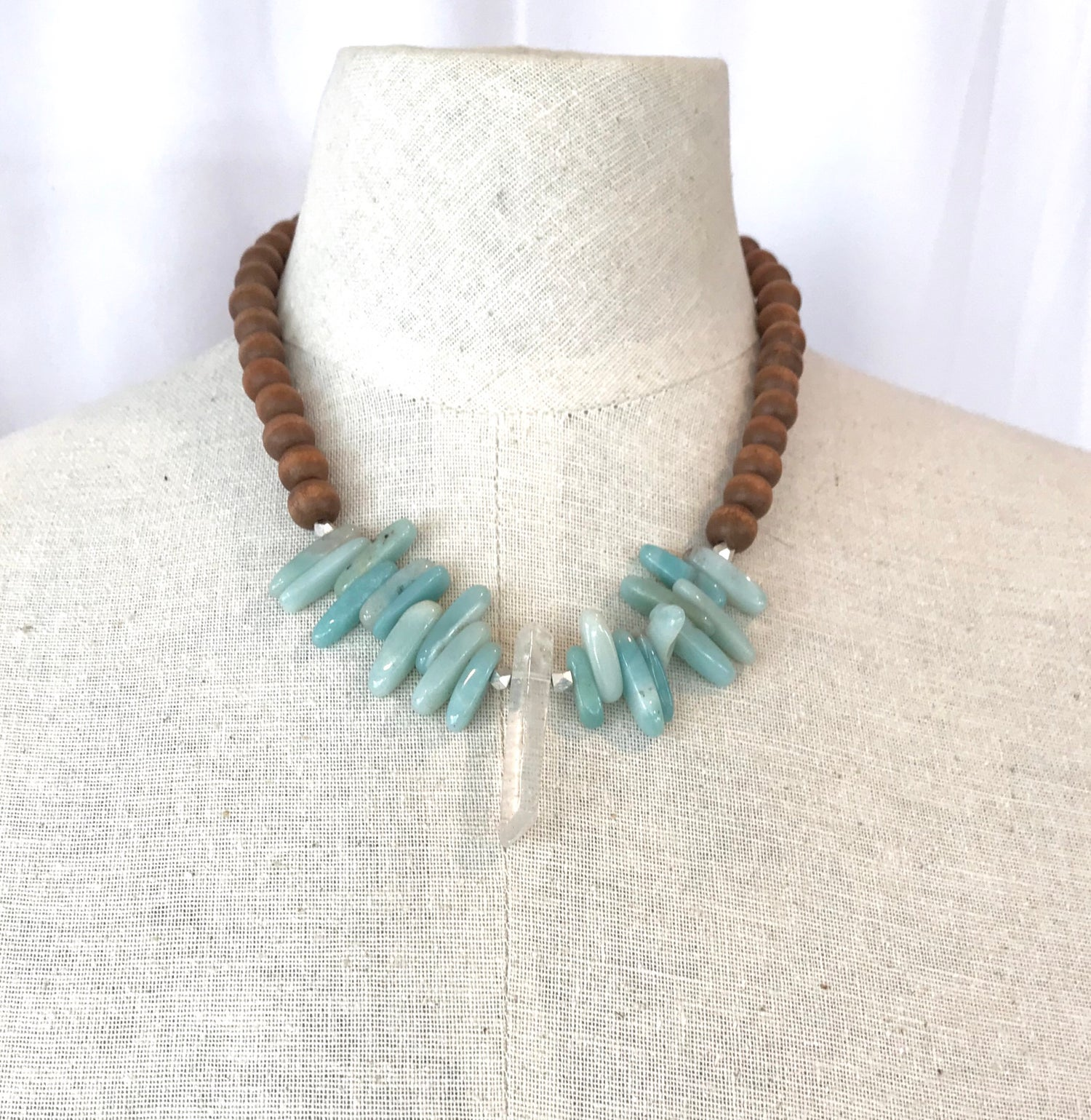 Image of Crystal Dagger Necklace