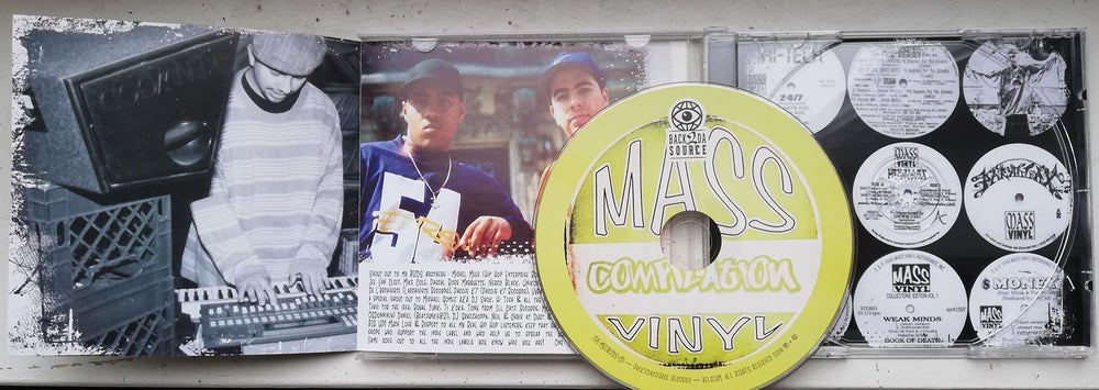Image of Mass Vinyl Compilation CD (OUT NOW)