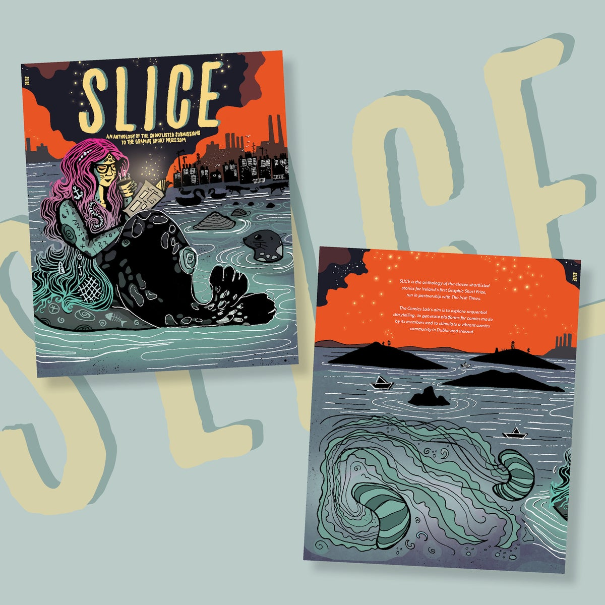 Image of SLICE - the Graphic Short Prize anthology
