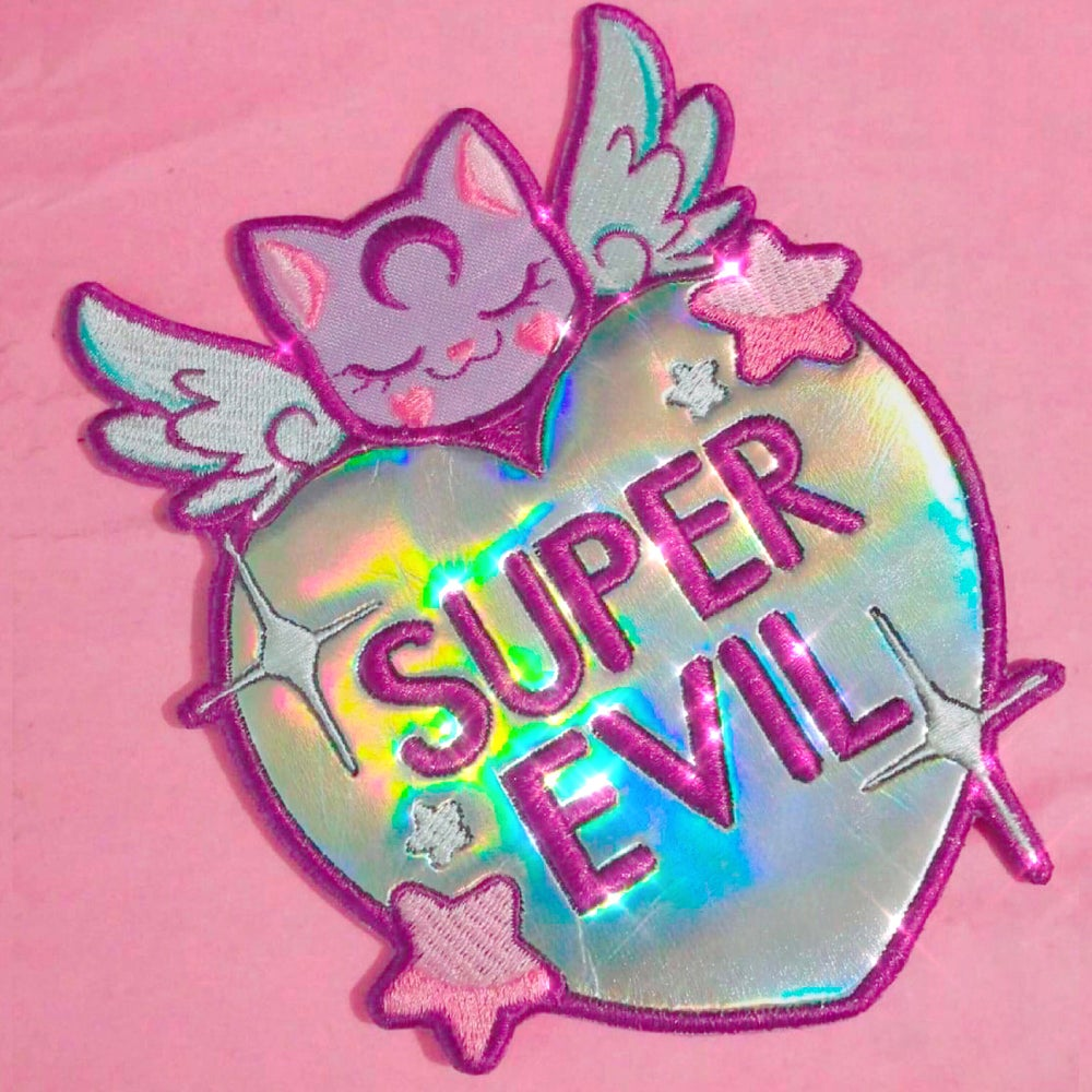 Image of SUPER EVIL 💖 IRON PATCH