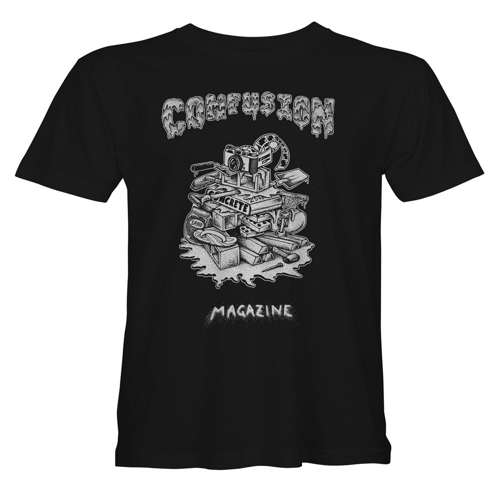 Image of Confusion - RUBBISH HEAP t-shirt [black]