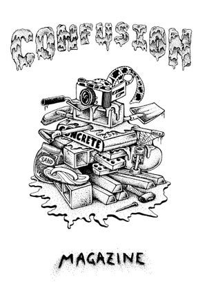 Image of Confusion - RUBBISH HEAP t-shirt [white]