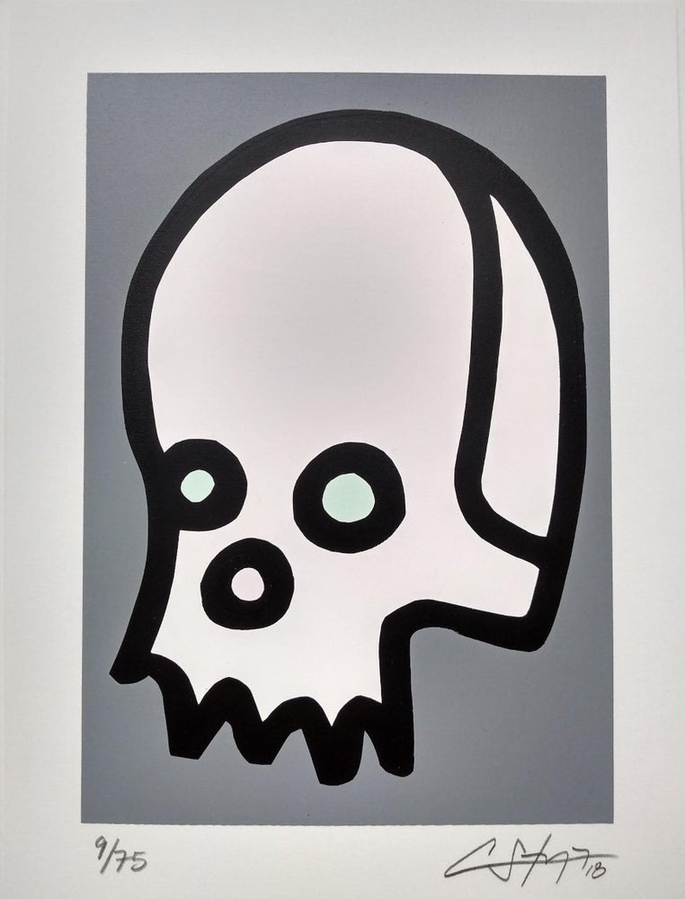 "Image of ""Celebrity Skull"" (Silkscreen Print)"