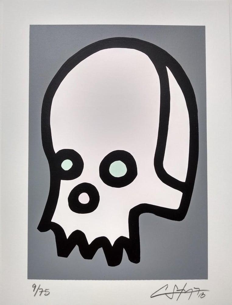 """Image of """"Celebrity Skull"""" (Silkscreen Print)"""