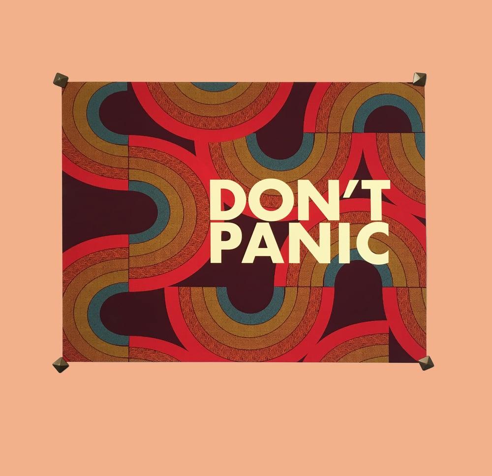 Image of DON'T PANIC- 11 x 14 print