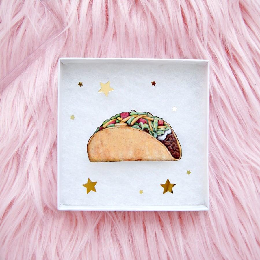 Image of Taco pin