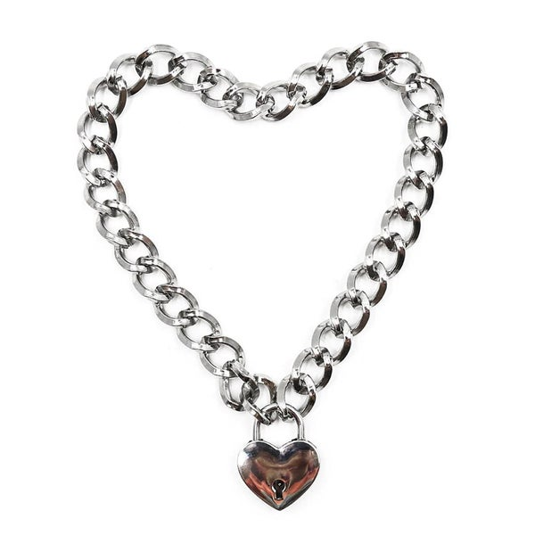 Image of Sweetheart chain choker