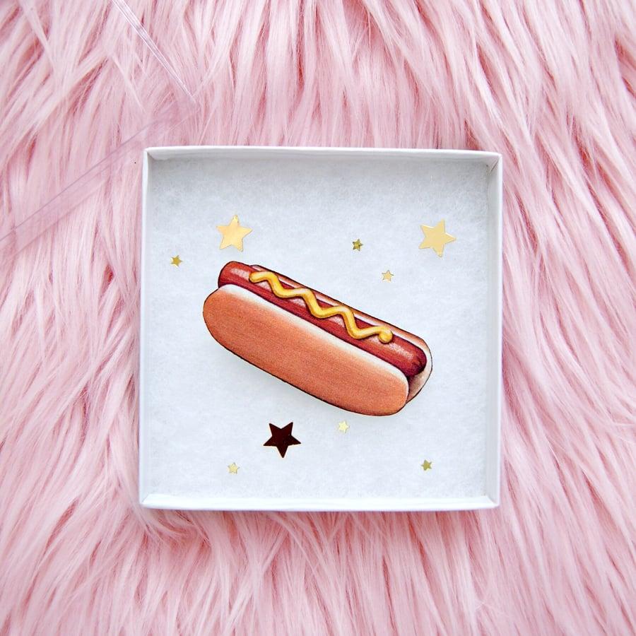 Image of Hot Dog pin